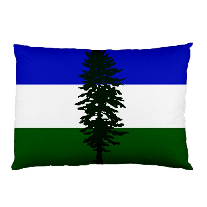 Flag of Cascadia Pillow Case (Two Sides)