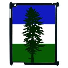 Flag Of Cascadia Apple Ipad 2 Case (black)