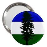 Flag of Cascadia 3  Handbag Mirrors Front