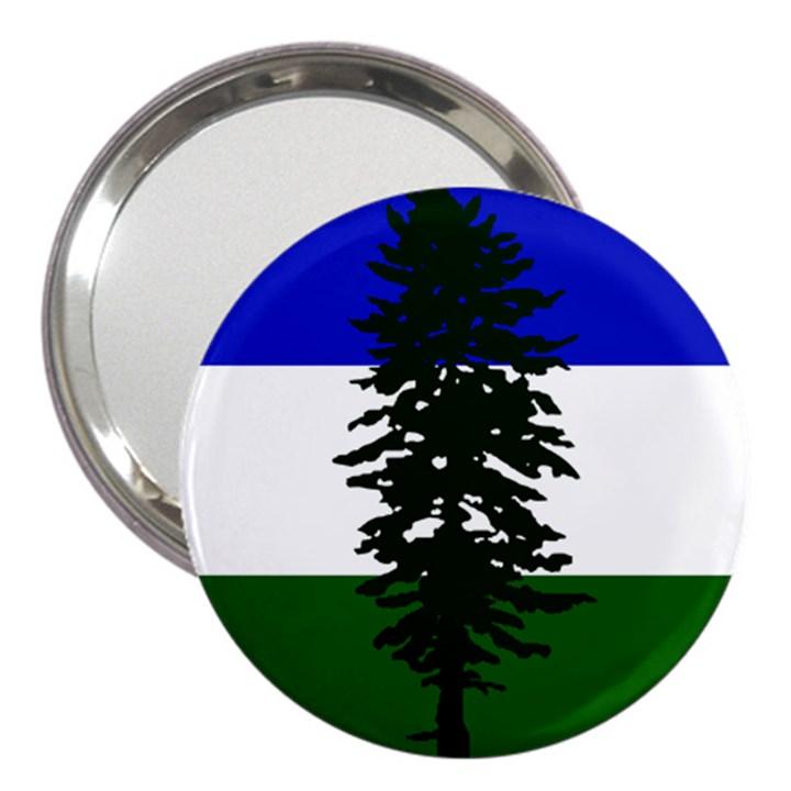 Flag of Cascadia 3  Handbag Mirrors