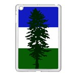 Flag of Cascadia Apple iPad Mini Case (White) Front
