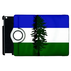 Flag Of Cascadia Apple Ipad 2 Flip 360 Case
