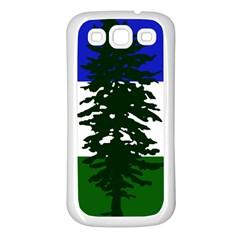 Flag Of Cascadia Samsung Galaxy S3 Back Case (white)