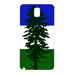 Flag Of Cascadia Samsung Galaxy Note 3 N9005 Hardshell Back Case