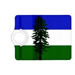 Flag of Cascadia Kindle Fire HD (2013) Flip 360 Case Front