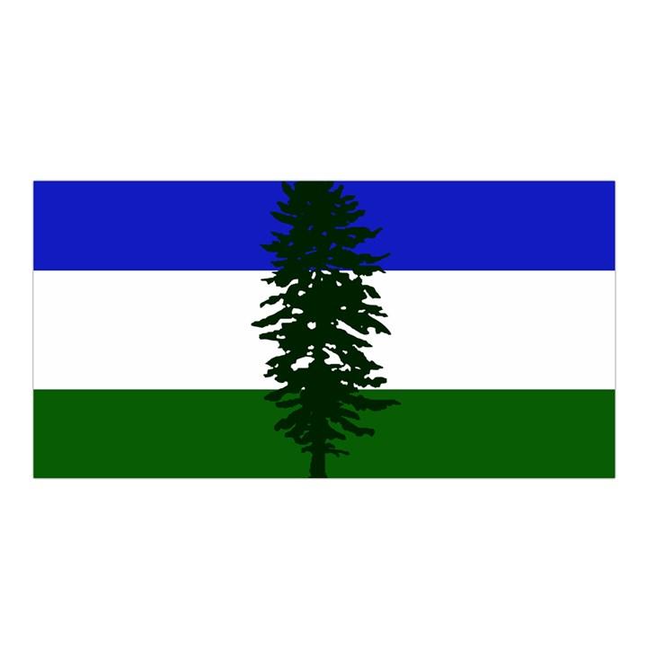 Flag of Cascadia Satin Shawl