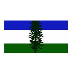 Flag Of Cascadia Satin Wrap