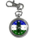 Flag of Cascadia Key Chain Watches Front