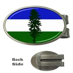Flag of Cascadia Money Clips (Oval)  Front