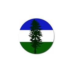 Flag Of Cascadia Golf Ball Marker