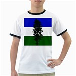 Flag of Cascadia Ringer T-Shirts Front