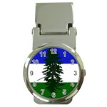 Flag of Cascadia Money Clip Watches Front