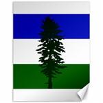 Flag of Cascadia Canvas 18  x 24   24 x18 Canvas - 1