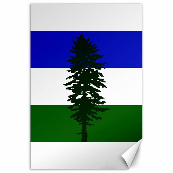 Flag of Cascadia Canvas 20  x 30