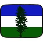 Flag of Cascadia Fleece Blanket (Mini) 35 x27 Blanket