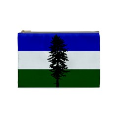 Flag Of Cascadia Cosmetic Bag (medium)