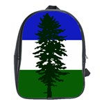 Flag of Cascadia School Bag (Large) Front