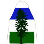 Flag of Cascadia Full Print Aprons Front