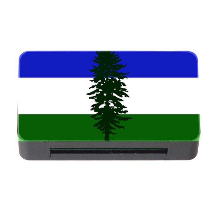 Flag of Cascadia Memory Card Reader with CF