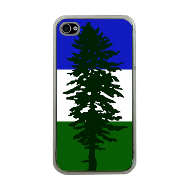 Flag of Cascadia Apple iPhone 4 Case (Clear)