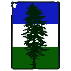 Flag Of Cascadia Apple Ipad Pro 9 7   Black Seamless Case