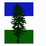 Flag of Cascadia Large Garden Flag (Two Sides) Back