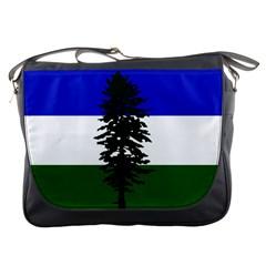 Flag Of Cascadia Messenger Bags
