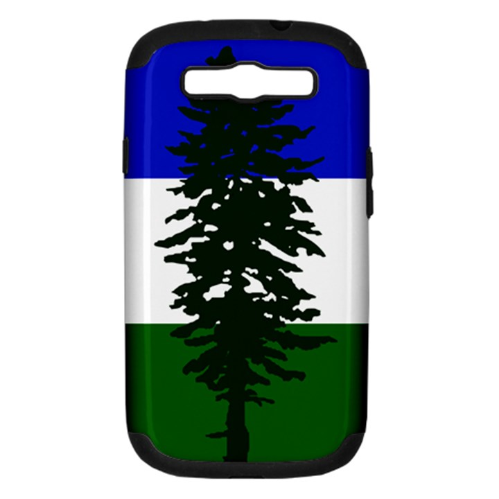 Flag of Cascadia Samsung Galaxy S III Hardshell Case (PC+Silicone)
