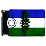 Flag of Cascadia Apple iPad 2 Flip 360 Case Front