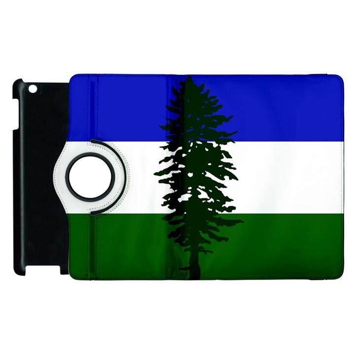 Flag of Cascadia Apple iPad 3/4 Flip 360 Case