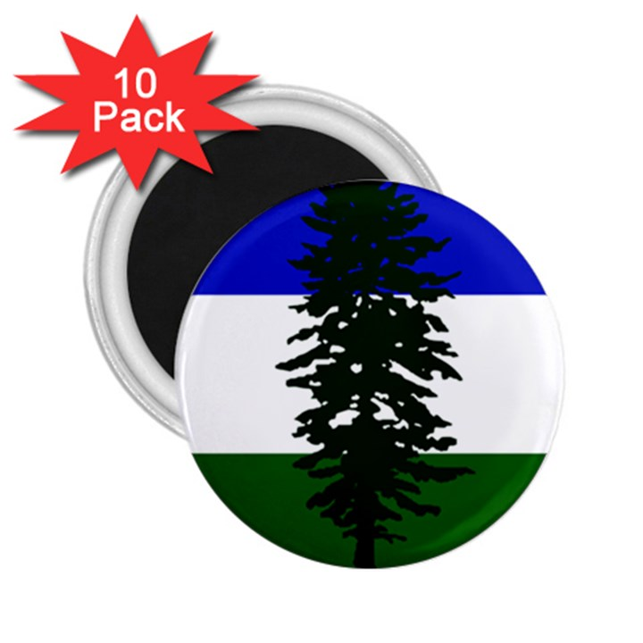 Flag of Cascadia 2.25  Magnets (10 pack)