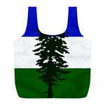 Flag of Cascadia Full Print Recycle Bags (L)  Front