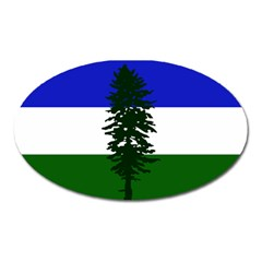 Flag Of Cascadia Oval Magnet