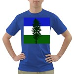 Flag of Cascadia Dark T-Shirt Front