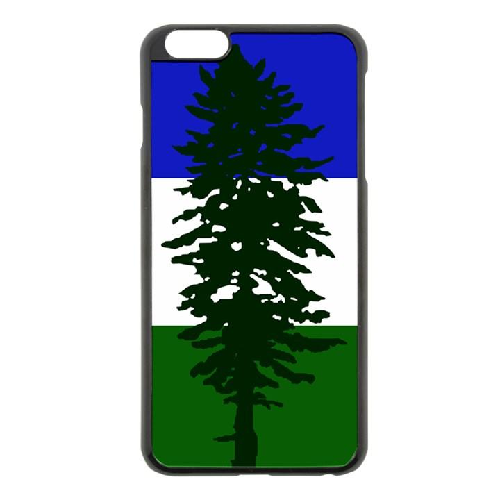 Flag of Cascadia Apple iPhone 6 Plus/6S Plus Black Enamel Case
