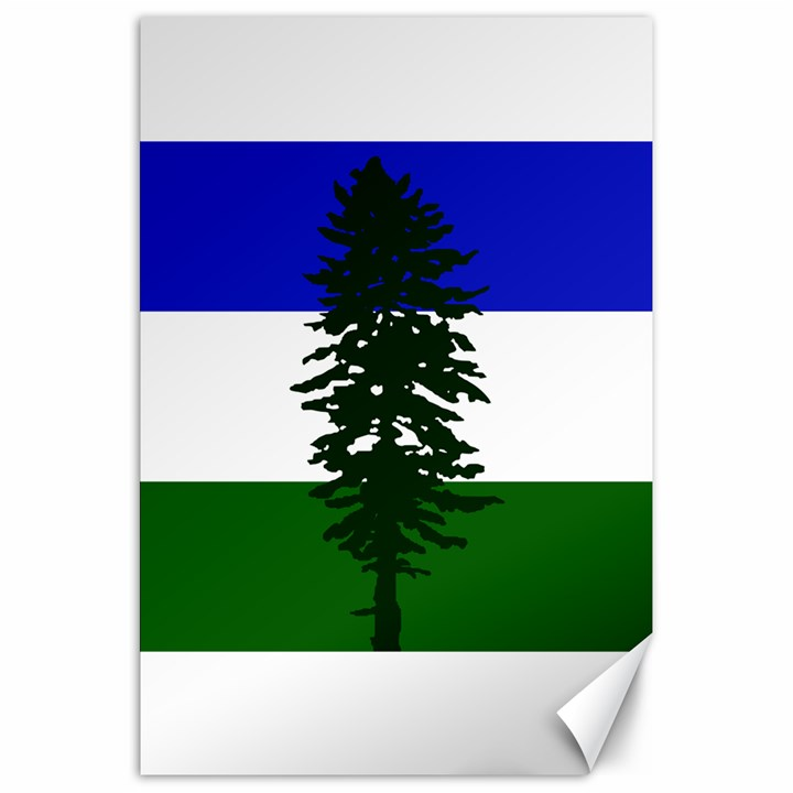 Flag of Cascadia Canvas 20  x 30