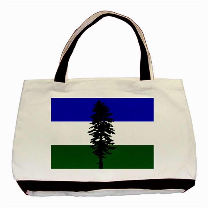 Flag of Cascadia Basic Tote Bag (Two Sides)