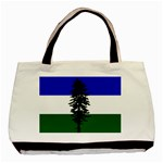 Flag of Cascadia Basic Tote Bag (Two Sides) Back