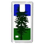 Flag of Cascadia Samsung Galaxy Note 4 Case (White) Front