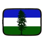 Flag of Cascadia Netbook Case (Medium)  Front