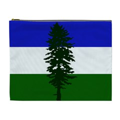 Flag Of Cascadia Cosmetic Bag (xl)