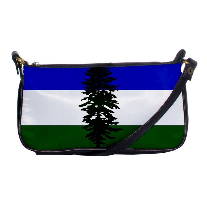 Flag of Cascadia Shoulder Clutch Bags