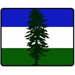 Flag of Cascadia Fleece Blanket (Medium)  60 x50 Blanket Front