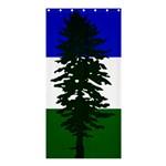 Flag of Cascadia Shower Curtain 36  x 72  (Stall)  33.26 x66.24 Curtain