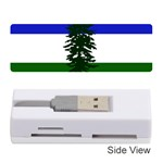 Flag of Cascadia Memory Card Reader (Stick)  Front