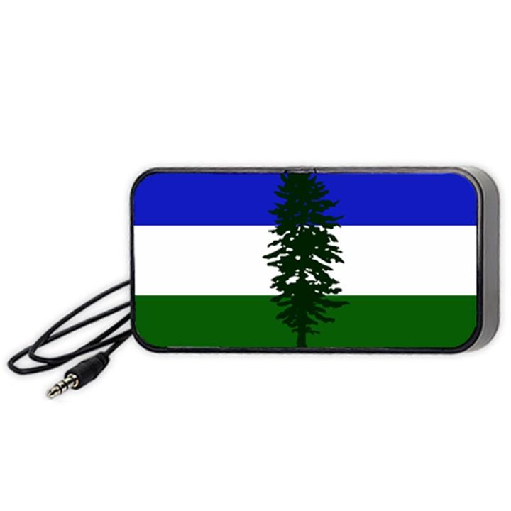 Flag of Cascadia Portable Speaker
