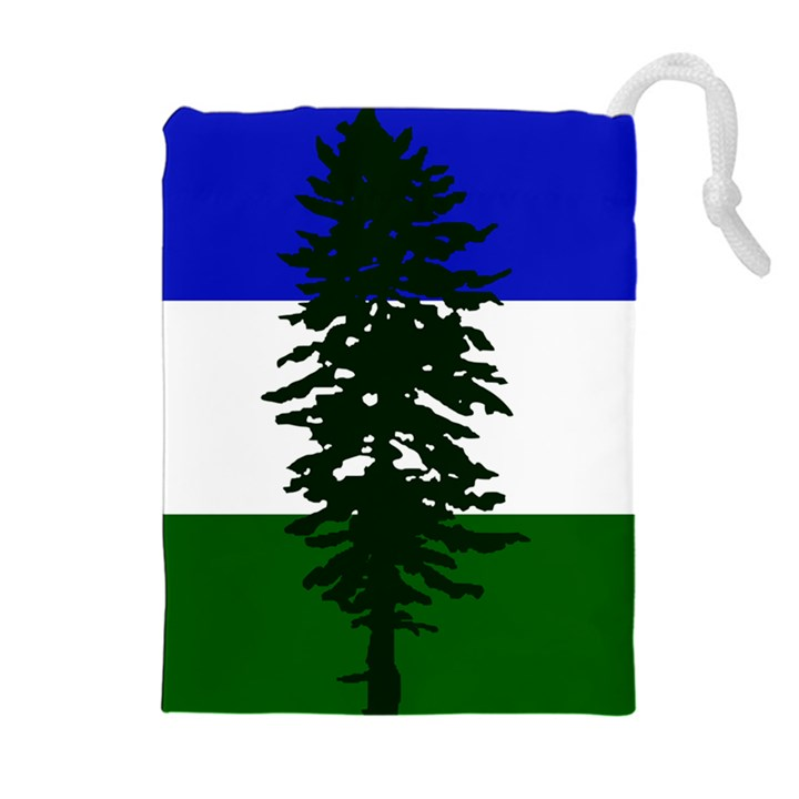 Flag of Cascadia Drawstring Pouches (Extra Large)