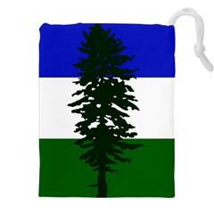 Flag Of Cascadia Drawstring Pouches (xxl)