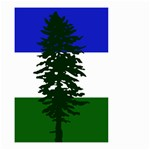 Flag of Cascadia Small Garden Flag (Two Sides) Front
