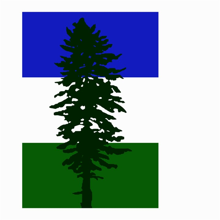 Flag of Cascadia Small Garden Flag (Two Sides)